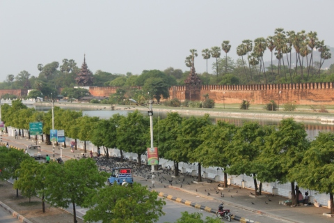 Walls of the Mandalay Palace